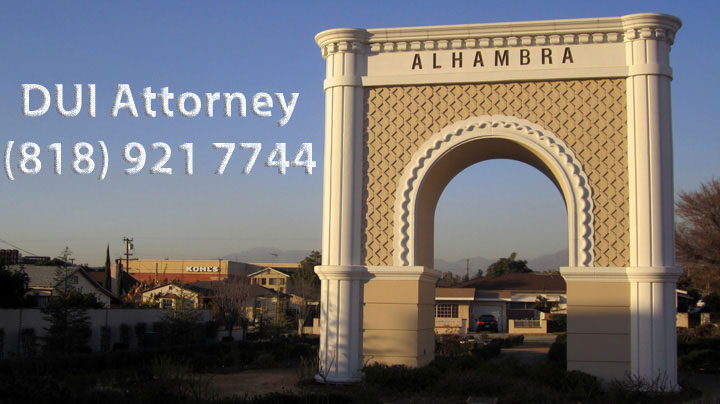 Alhambra DUI Attorney